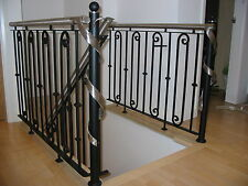 Wrought Iron / Stainless  balustrade , Hand Made in the UK  ( PRICE PER METRE).