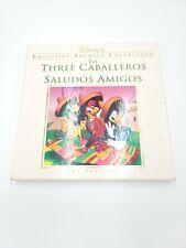 Walt Disney's The Three Caballeros Saludos Amigos Laserdisc