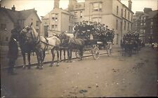 Seaton. Horse & Carriage Outings. Seaton Coffee Tavern at left.