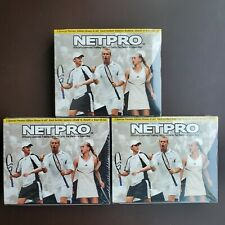 (3x) NETPRO 2003 Tennis Box SEALED Premier Edition Nadal Serena Federer Net Pro
