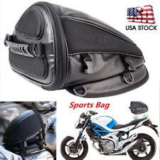 Motorcycle Tail Bag Back Seat Storage Carry Hand Shoulder waterproof Saddle Bag.