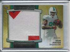 2013 Bowman Sterling Rookie PATCH Card Dion Jordan MIAMI DOLPHINS #3/75