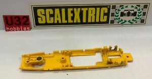 Scalextric exin Chassis Mclaren F1 Yellow C43 Excellent Condition