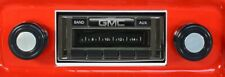 1967-1972 GMC Truck NEW AM FM Stereo Radio USA-230 200 watts Auxiliary input