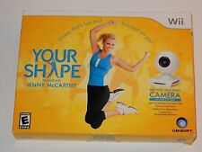 Your Shape: featuring Jenny McCarthy (Nintendo Wii, 2009) NEW