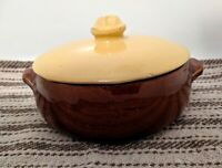 Vintage McCoy Pottery Covered Dish