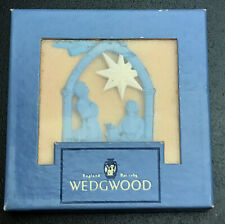 "Wedgwood Blue Jasper ""Nativity"" Ornament"