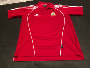 British Lions 2005 Rugby Shirt Polo GB Sm New Zealand Tour Jersey pre owned