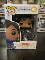 Funko Pop! Overwatch Titanium Pharah #95 Blizzard Exclusive WITH PROTECTOR!