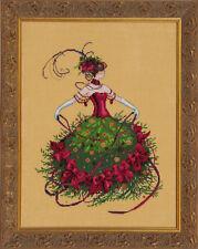 Miss Christmas Eve - Cross Stitch Chart - Free Postage