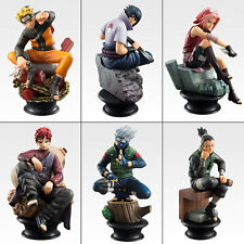SET SCACCHI NARUTO CHESS BOX 6-PACK FIGURE PVC ANIME STATUA SASUKE MANGA KAKASHI