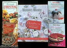 Australian Womens Weekly Christmas Cookery in Slipcase + Julie Goodwin 5 Books