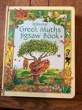 Greek Myths Jigsaw Book by Usborne Publishing Ltd (Novelty book, 2005)