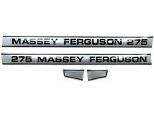 Motorhaube Aufkleber Set passend Massey Ferguson 275 Traktore