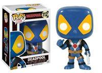 Figura Colección Deadpool Version X-Men Thumb Up 10cm FUNKO Pop 112 Figura