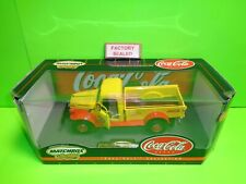 COCA-COLA COKE 1946 DODGE POWER WAGON PICKUP TRUCK MATCHBOX DIECAST 1:24th A