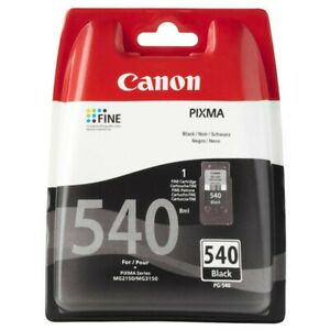 Neu Canon PG-540 schwarz Tintenpatrone Tinte Original 8,0ml Druckkopf 5225B005*!