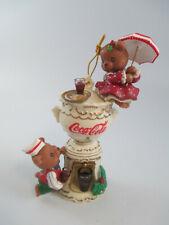 Enesco Coca-Cola A Century of Good Taste Holiday Christmas Tree Ornament
