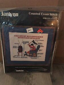 Janlynn Counted Cross Stitch Sports Kit