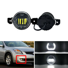 DRL Halo Led Fog Light Kit For Nissan Altima X-Trail Versa Infiniti M35/M45 JX35