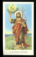 santino-holy card EGIM n.63 S.GIOVANNI BATTISTA