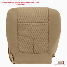 2009 Ford F150XLT XTR FX4 FX2 Passenger Bottom Cloth Seat Cover Med Camel Tan