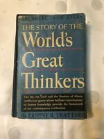 """""""The Story of the World's Great Thinkers"""" by Ernest R. Trattner, 1938"""