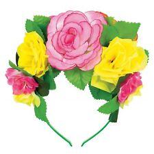 floreale rosa CORONA GHIRLANDA Festival della spiaggia party FASCIA CAPELLI
