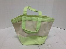 Pottery Barn Kids Small Toddler Baby Easter Canvas Tote Gift Toy Bag Green
