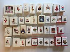 Lot of 37 Hallmark Keepsake Ornaments 2006-2015 Magic Singles Membership Series