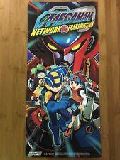 Official Mega Man: Network Transmission Gamecube 2003 Nintendo Power Poster Rare