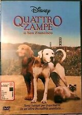 QUATTRO ZAMPE A SAN FRANCISCO DVD 1996 FILM Walt Disney ITALIANO 4 in fuga