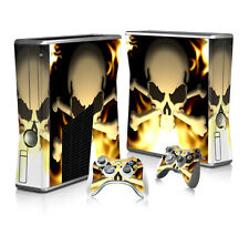 SKULL Vinyl Decal Cover Skin Sticker for Xbox360 slim and 2 controller skins
