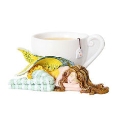 Chamomile Fairy Teacup Figurine Faery Figure Amy Brown tea cup faerie mug statue