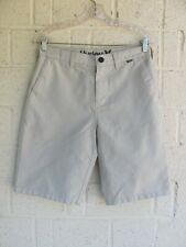 MENS HURLEY SHORTS SZ 29 NIKE DRI-FIT STRIPED COLOR GRAY PRE OWNED