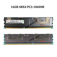 For Hynix 16GB 4RX4 PC3-10600R DDR3-1333MHZ REG ECC Registered Server Memory