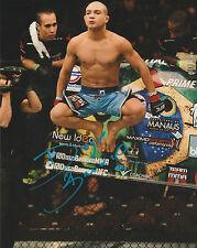 DIEGO BRANDAO SIGNED AUTO'D 8X10 PHOTO UFC 195 168 153 FIGHT NIGHT MMA TUF C