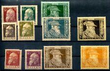 BAYERN 1911 85-86I * etc gute WERTE LUITPOLD 300€(D4398