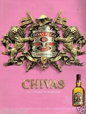 Publicité advertising 2011 Scotch Whisky Chivas Regal