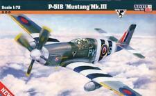 P-51 B MUSTANG MK.III (112 SQN RAF & 315 SQN POLISH AF MKGS)1/72 MISTERCRAFT