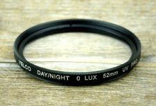 Yelco day/night 0 lux filtro UV pro filtro UV 52mm m52 schraubfassung (o3007