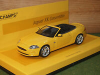 Minichamps 436 130530 Jaguar XK Convertible 2008 1/43rd Scale in yellow