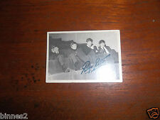 THE BEATLES NEMS ENTERPRISES A & B C GUM TRADING CARD FIRST SERIES CARD NO. 12