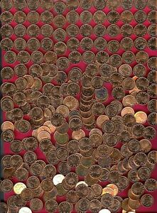 ZIMBABWE 1 CENT 1997 UNC 100 COINS BIRD ON NEST NICE,DENOMINATION WITHIN WREATH