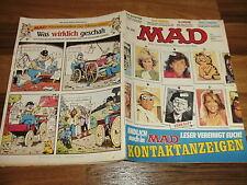 MAD  # 206 -- Jagd nach Juwel vom Nil / Don Martin: KING KONG / Lindenstrasse