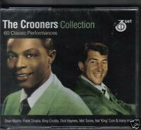 THE CROONERS COLLECTION - VARIOUS on 3 CD'S -  NEW -