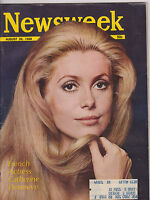 AUG 26 1968 NEWSWEEK vintage news magazine CATHERINE DENEUVE ACTRESS