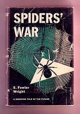 SPIDER'S WAR (S. Fowler Wright/1st US/#3 Margaret Cranleigh)