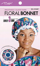 Magic Collection Floral Sombrero transpirable elástico 3 Precioso Mira # 2115ast