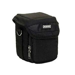 New KIESEL DC130 Pouch Style CAMERA BAG Black Digital Series Case FREE SHIPPING!
